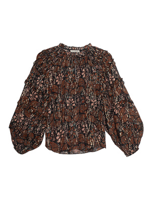 ULLA JOHNSON Roma Volants Dark Brown