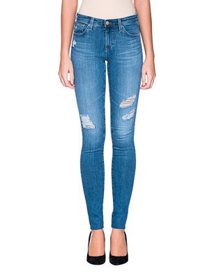 AG Jeans Legging Destroyed Blue