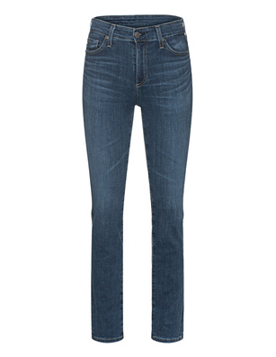 AG Jeans The Mari High Rise Straight Dark Blue