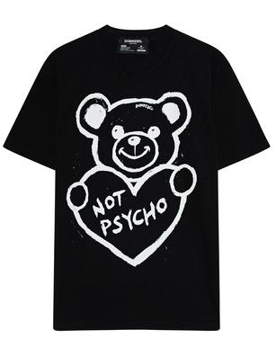 DOM REBEL Boxy Psycho Bear Black