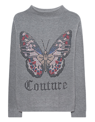 CAMOUFLAGE COUTURE STORK Butterfly Front Grey
