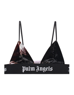 Palm Angels Logo Tape Black