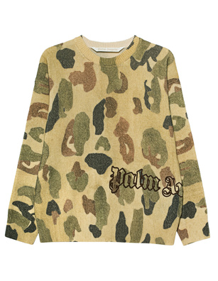 Palm Angels Military Camouflage Multicolor