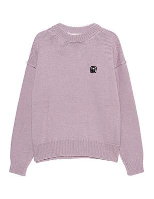 Palm Angels Knit Crew Lilac