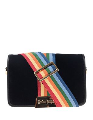 Palm Angels Velvet Rainbow Black