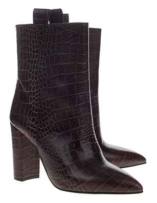 PARIS TEXAS Croco Boot Brown