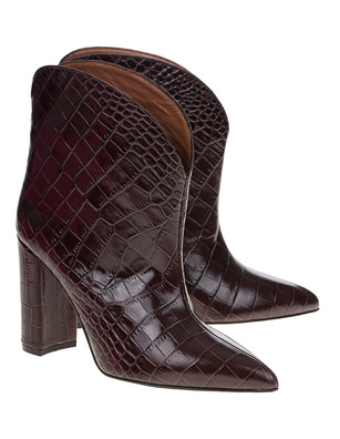 PARIS TEXAS Croco Dark Brown