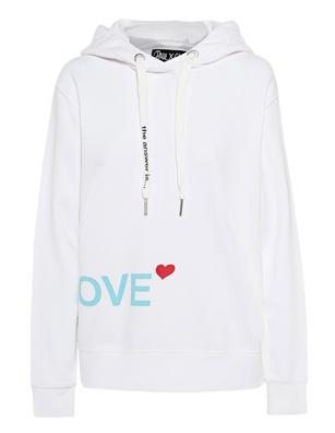 PAUL X CLAIRE Love White