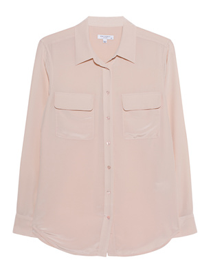 EQUIPMENT Signature Blouse Nude