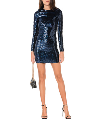 RED VALENTINO All Over Sequins Blue
