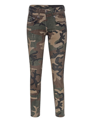 R13 Boy Skinny Camouflage