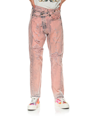 R13 Crossover Faded Pink