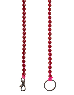 INA SEIFART Wooden Pearls Red