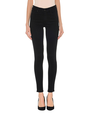 AG Jeans The Farrah High Rise Skinny Black