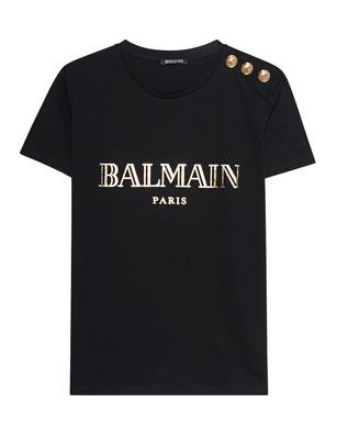 BALMAIN Shoulder Button Black