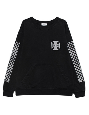 RHUDE Classic Checkers Black