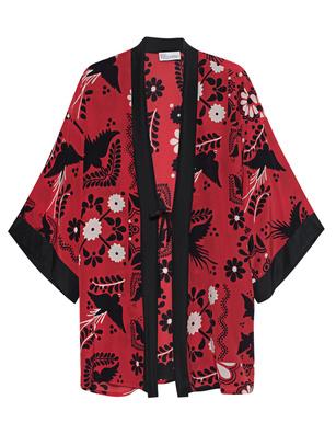 RED VALENTINO Kimono St. Piastrel Red