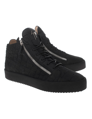 GIUSEPPE ZANOTTI May London Mid Croco Black