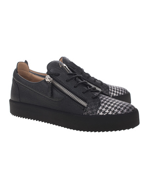 GIUSEPPE ZANOTTI May London Houndstooth Black