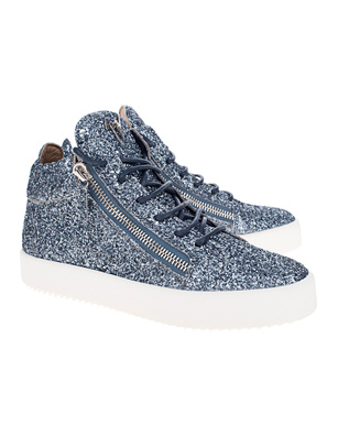 GIUSEPPE ZANOTTI May London Glitter Logoball Blue