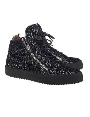 GIUSEPPE ZANOTTI May London Ghost Glitter Black