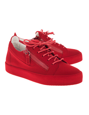 GIUSEPPE ZANOTTI  Smuggy Velvet The Unfinished Red