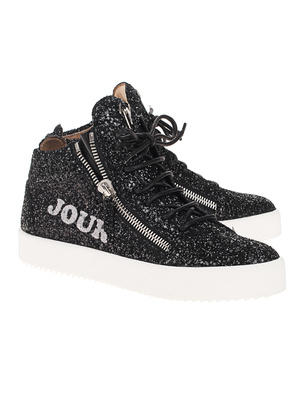 GIUSEPPE ZANOTTI May London Bonjour Nuit Glitter Black