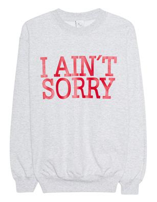 "L.A.LU Design ""I aint sorry"" Grey"