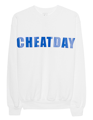 """L.A.LU Design """"Cheatday"""" White"""