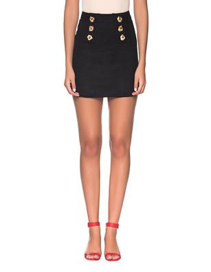 VIOLANTE NESSI Magritte Skirt Black