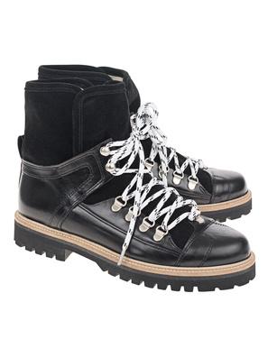 Ganni Edna Boots Velours Black