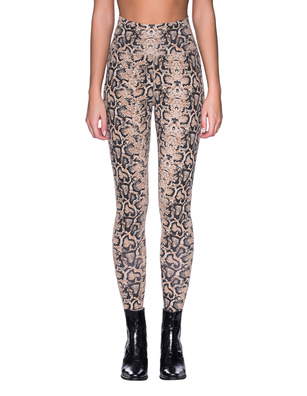 RAGDOLL L.A. Python Leggings Brown