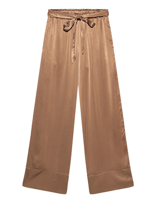 SOSUE Pyjama Satin Cognac