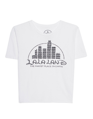 LOCAL AUTHORITY L.A. La La Land Crop White