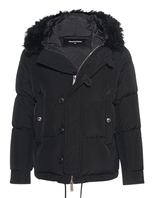 DSQUARED2 Down Fur Black