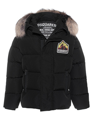 DSQUARED2 Down Jacket Black