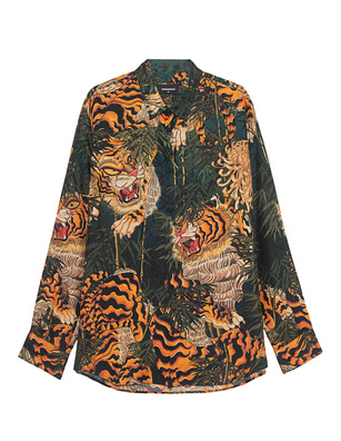 DSQUARED2 Pattern Tiger Multicolor