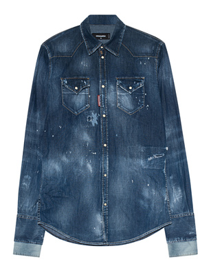 DSQUARED2 Double Denim Blue