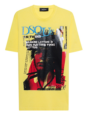 DSQUARED2 Super Negative Yellow
