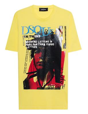 DSQUARED2 Super Negative Yellow