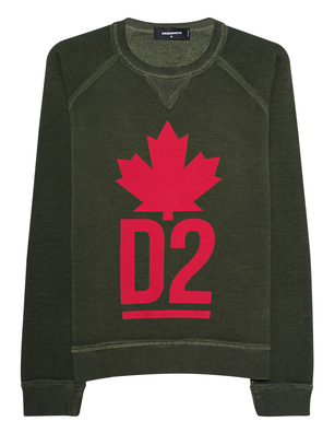 DSQUARED2 Sweater DSQ Olive