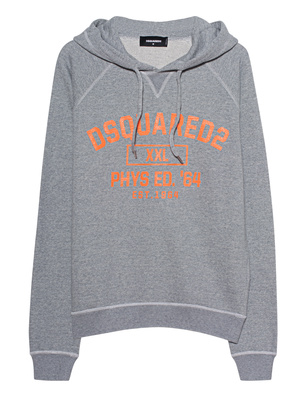 DSQUARED2 Hoodie Orange Grey