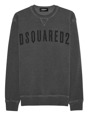DSQUARED2 DSQ Logo Sweater Anthracite