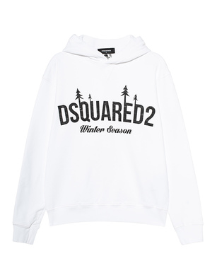 DSQUARED2 Winter Season Print White