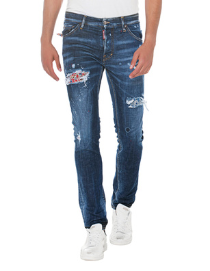 DSQUARED2 Cool Guy Patch Blue