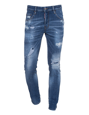 DSQUARED2 Skater Jean Washed Out Blue