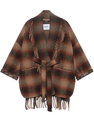 BAZAR DELUXE Wool Checked Multicolor