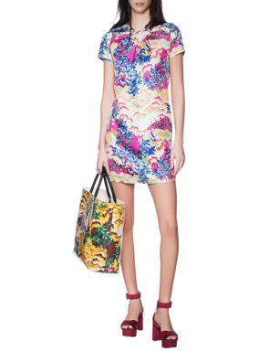 DSQUARED2 Hawaii Print Multicolor