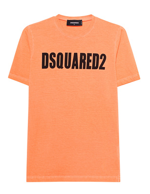 DSQUARED2 Logo Neon Orange