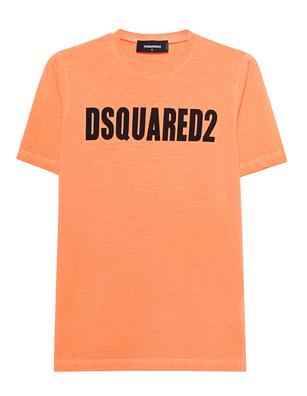 DSQUARED2 Logo Neon Orange